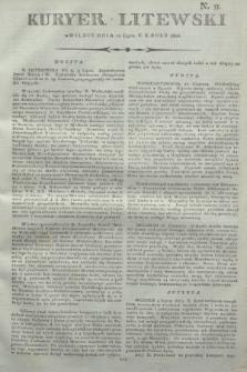 Kuryer Litewski. 1806, N. 55 (10 lipca)