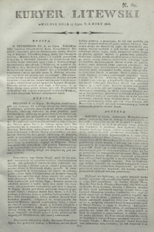 Kuryer Litewski. 1806, N. 60 (27 lipca)
