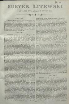 Kuryer Litewski. 1806, N. 62 (5 sierpnia)
