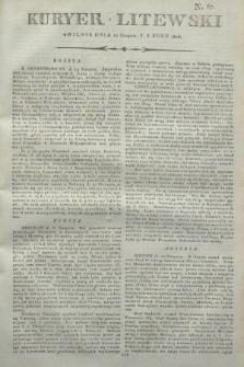 Kuryer Litewski. 1806, N. 67 (22 sierpnia)