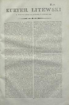 Kuryer Litewski. 1806, N. 77 (26 września)
