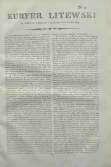 Kuryer Litewski. 1806, N. 79 (3 października)