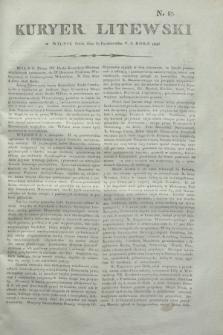 Kuryer Litewski. 1806, N. 87 (31 października)