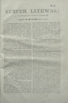 Kuryer Litewski. 1806, N. 98 (8 grudnia)