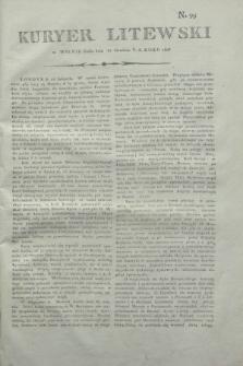 Kuryer Litewski. 1806, N. 99 (12 grudnia 1806)