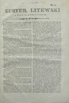 Kuryer Litewski. 1806, N. 101 (19 grudnia)
