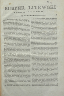 Kuryer Litewski. 1806, N. 103 (23 grudnia)