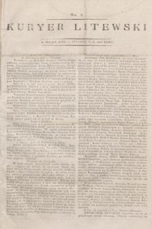 Kuryer Litewski. 1813, Nro 4 (11 stycznia)