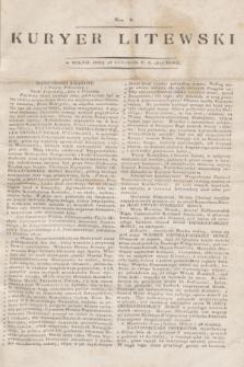 Kuryer Litewski. 1813, Nro 6 (18 stycznia)