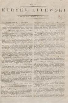 Kuryer Litewski. 1813, Nro 20 (8 marca)