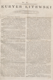 Kuryer Litewski. 1813, Nro 50 (21 czerwca)