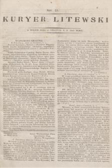 Kuryer Litewski. 1813, Nro 51 (25 czerwca)