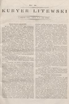 Kuryer Litewski. 1813, Nro 54 (5 lipca) + dod.