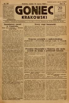 Goniec Krakowski. 1926, nr58
