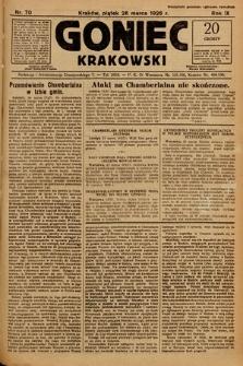Goniec Krakowski. 1926, nr70