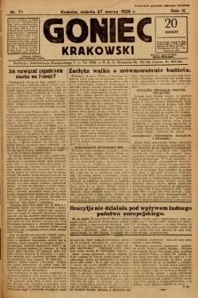 Goniec Krakowski. 1926, nr71