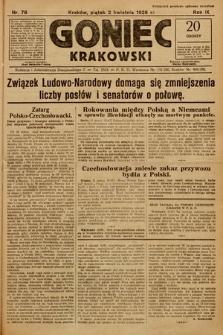 Goniec Krakowski. 1926, nr76