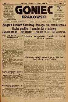 Goniec Krakowski. 1926, nr77