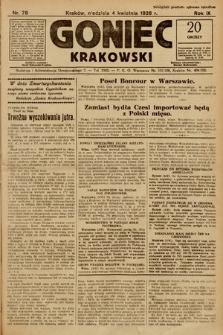 Goniec Krakowski. 1926, nr78