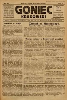 Goniec Krakowski. 1926, nr80