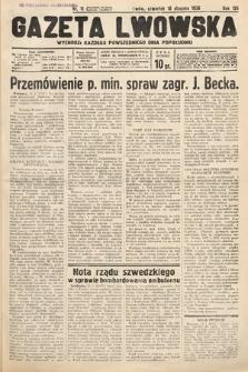 Gazeta Lwowska. 1936, nr11
