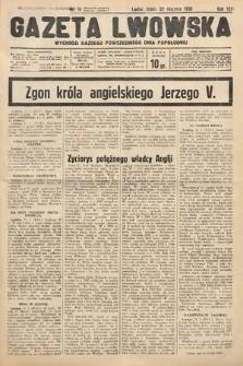 Gazeta Lwowska. 1936, nr16