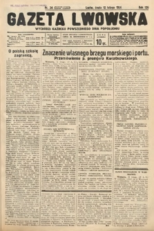 Gazeta Lwowska. 1936, nr34