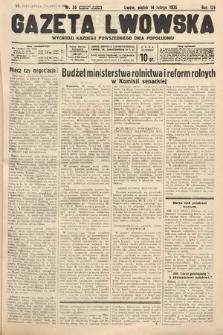 Gazeta Lwowska. 1936, nr36