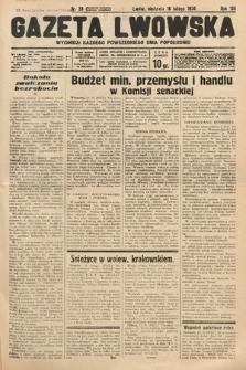 Gazeta Lwowska. 1936, nr38