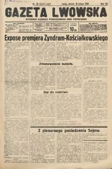 Gazeta Lwowska. 1936, nr39