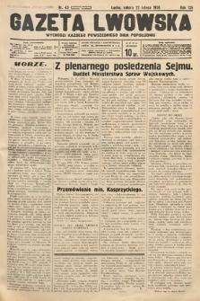 Gazeta Lwowska. 1936, nr43