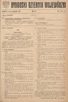 Bydgoski Dziennik Wojewódzki. 1950, nr17 |PDF|