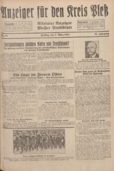 Anzeiger für den Kreis Pleß : Nikolaier Anzeiger : Plesser Stadtblatt. Jg.81, Nr. 28 (4 März 1932)