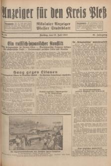 Anzeiger für den Kreis Pleß : Nikolaier Anzeiger : Plesser Stadtblatt. Jg.81, Nr. 84 (15 Juli 1932)