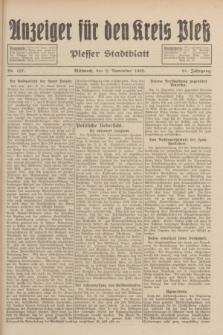 Anzeiger für den Kreis Pleß : Plesser Stadtblatt. Jg.81, Nr. 127 (2 November 1932)