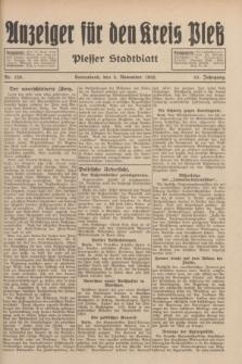 Anzeiger für den Kreis Pleß : Plesser Stadtblatt. Jg.81, Nr. 128 (5 November 1932)