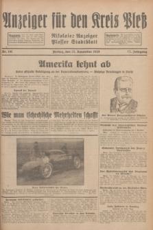Anzeiger für den Kreis Pleß : Nikolaier Anzeiger : Plesser Stadtblatt. Jg.77, Nr. 141 (23 November 1928)
