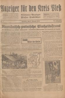 Anzeiger für den Kreis Pleß : Nikolaier Anzeiger : Plesser Stadtblatt. Jg.78, Nr. 3 (6 Januar 1929)