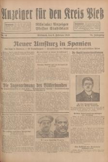 Anzeiger für den Kreis Pleß : Nikolaier Anzeiger : Plesser Stadtblatt. Jg.78, Nr. 16 (6 Februar 1929)