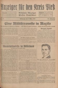 Anzeiger für den Kreis Pleß : Nikolaier Anzeiger : Plesser Stadtblatt. Jg.78, Nr. 28 (6 März 1929)