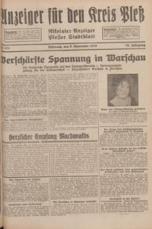 Anzeiger für den Kreis Pleß : Nikolaier Anzeiger : Plesser Stadtblatt. Jg.78, Nr. 133 (6 Novenber 1929)