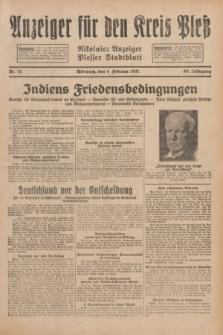 Anzeiger für den Kreis Pleß : Nikolaier Anzeiger : Plesser Stadtblatt. Jg.80, Nr. 15 (4 Februar 1931)