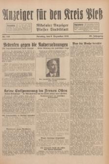 Anzeiger für den Kreis Pleß : Nikolaier Anzeiger : Plesser Stadtblatt. Jg.80, Nr. 146 (6 Dezember 1931)