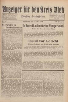 Anzeiger für den Kreis Pleß : Plesser Stadtblatt. Jg.83, Nr. 38 (12 Mai 1934)