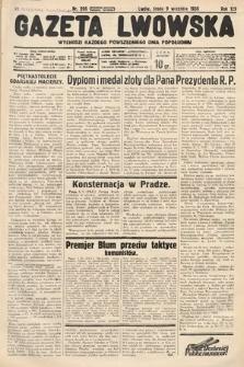 Gazeta Lwowska. 1936, nr206