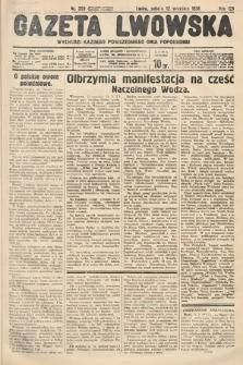 Gazeta Lwowska. 1936, nr209