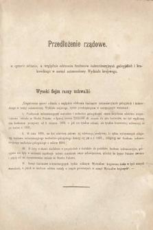 [Kadencja II, sesja II, al.21] Alegata do Sprawozdań Stenograficznych z Drugiej Sesji Drugiego Peryodu Sejmu Galicyjskiego z roku 1868. Alegat21