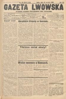 Gazeta Lwowska. 1936, nr218