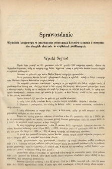 [Kadencja II, sesja II, al.22] Alegata do Sprawozdań Stenograficznych z Drugiej Sesji Drugiego Peryodu Sejmu Galicyjskiego z roku 1868. Alegat22