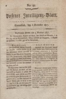 Posener Intelligenz-Blatt. 1817, No. 98 (6 December)